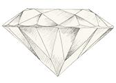 Color del diamante KZ