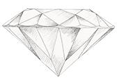 Diamant farve H
