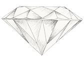 Diamant farve I