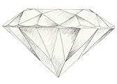 Diamant farve J
